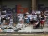 CHINA HONG KONG FEDEX SHARK FIN PROTEST